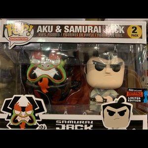 Funko Samurai Jack Aku 2pack NYCC exclusive